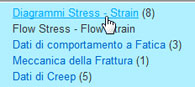 i diagrammi Stress-Strain: Step 2